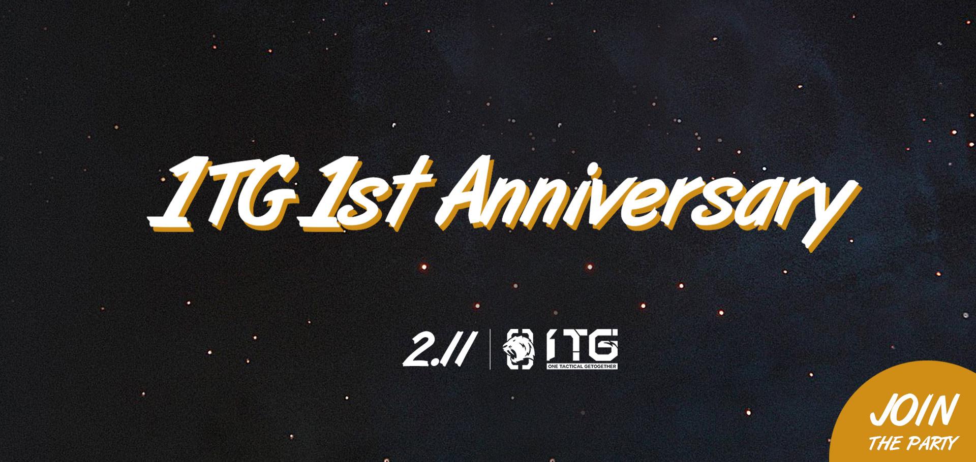 1TG 1st Anniversary, 1TG, 1st, Anniversary, 1st Anniversary