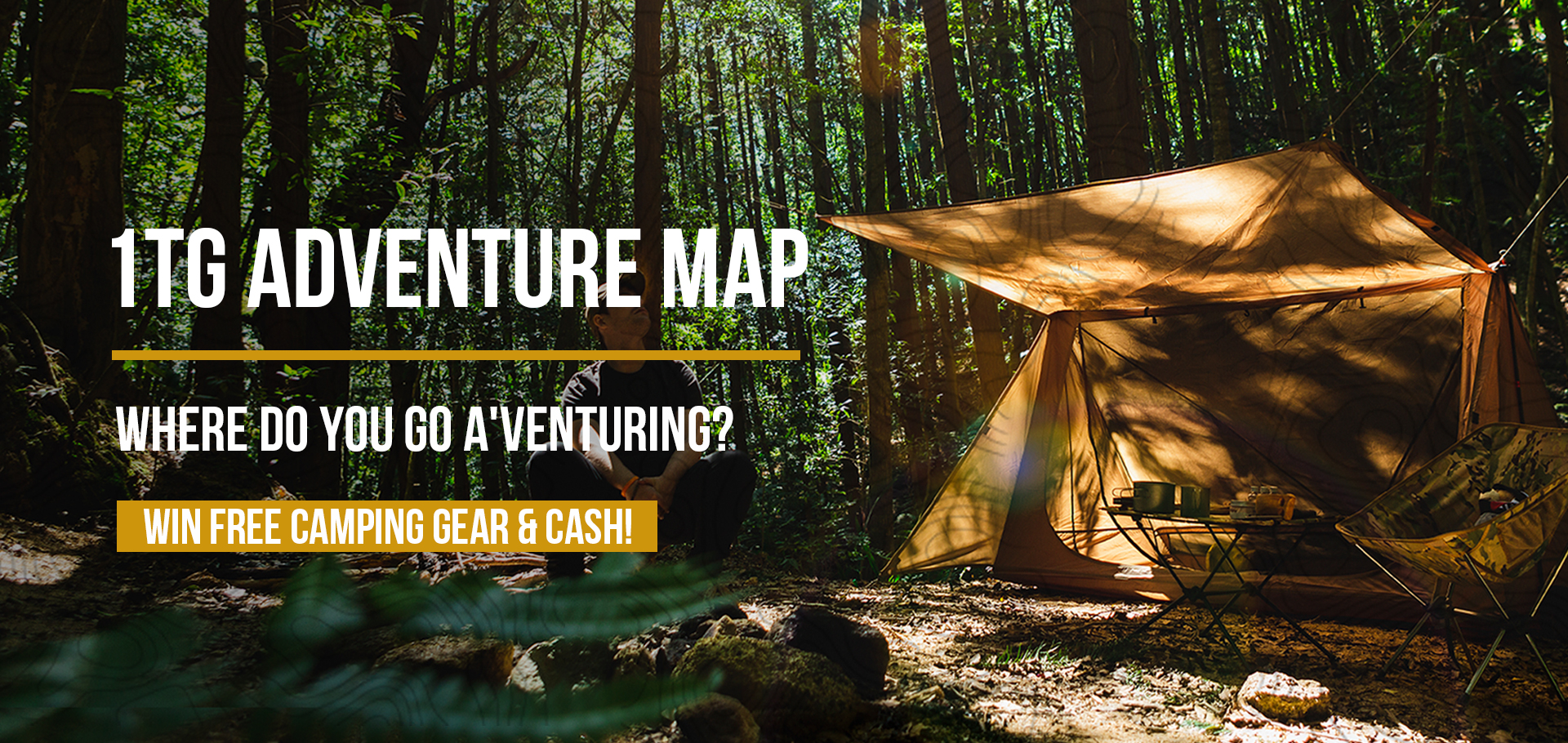 1TG Adventure Map, Camping Map, Camping, Tent, Good Camping Site