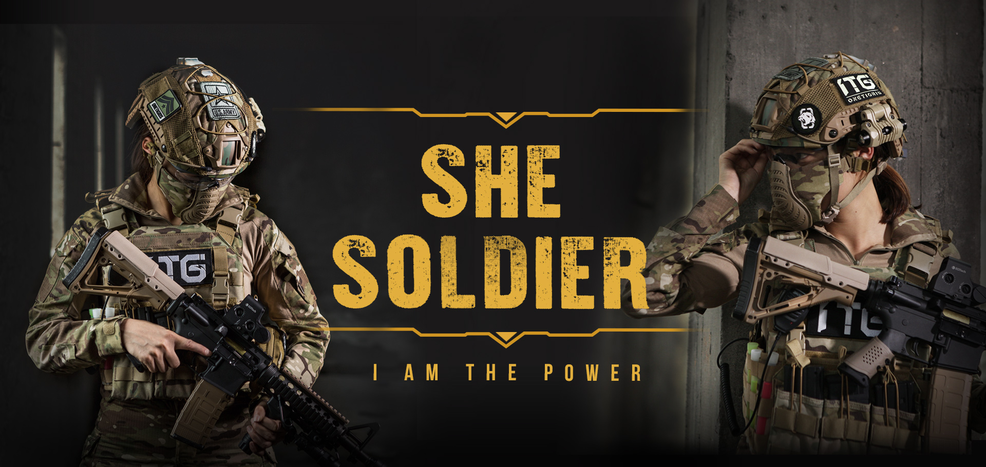 SHE SOLDIER