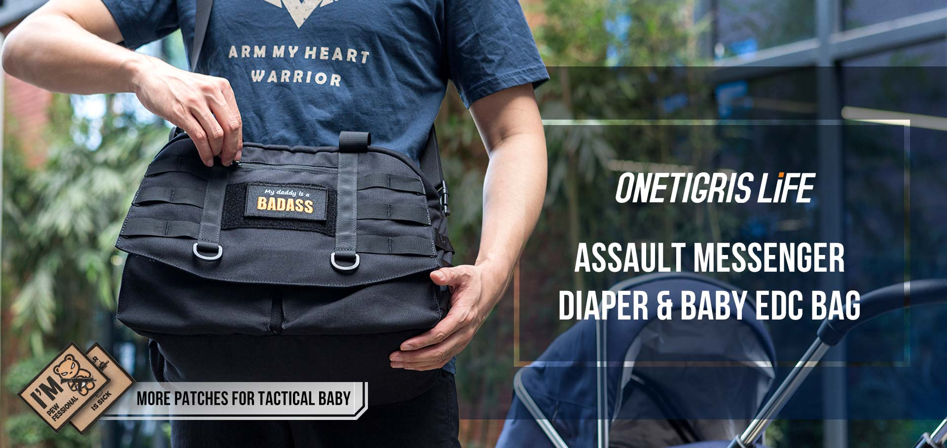 OPERATION DIAPER Assault Bag