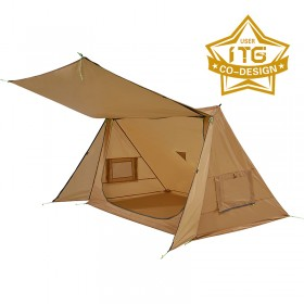 BACKWOODS BUNGALOW Ultralight Super Shelter