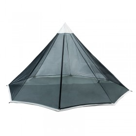 HOWLINGTOP Ultralight Teepee Shaped Mesh Inner Tent