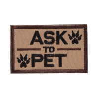 ASK TO PET