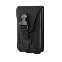 Vertical Double Phone Pouch