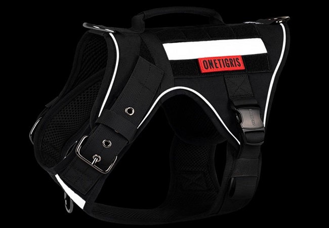 """NEW PRODUCT! """"FIRE TANKER"""" K9 HARNESS USER REVIEWS"""