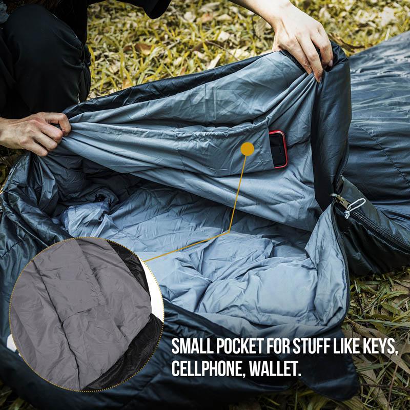 OneTigris Lightweight Duck Down Camping Sleeping Bags