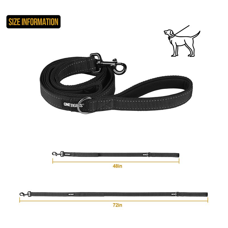 OneTigris Dog Leash 16 size information