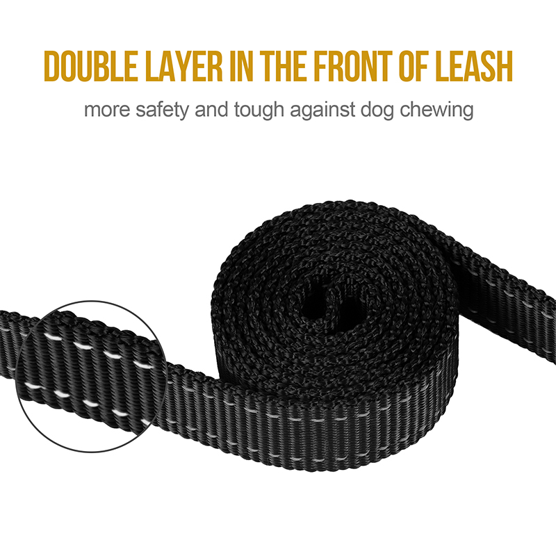 OneTigris Dog Leash double layer in the front