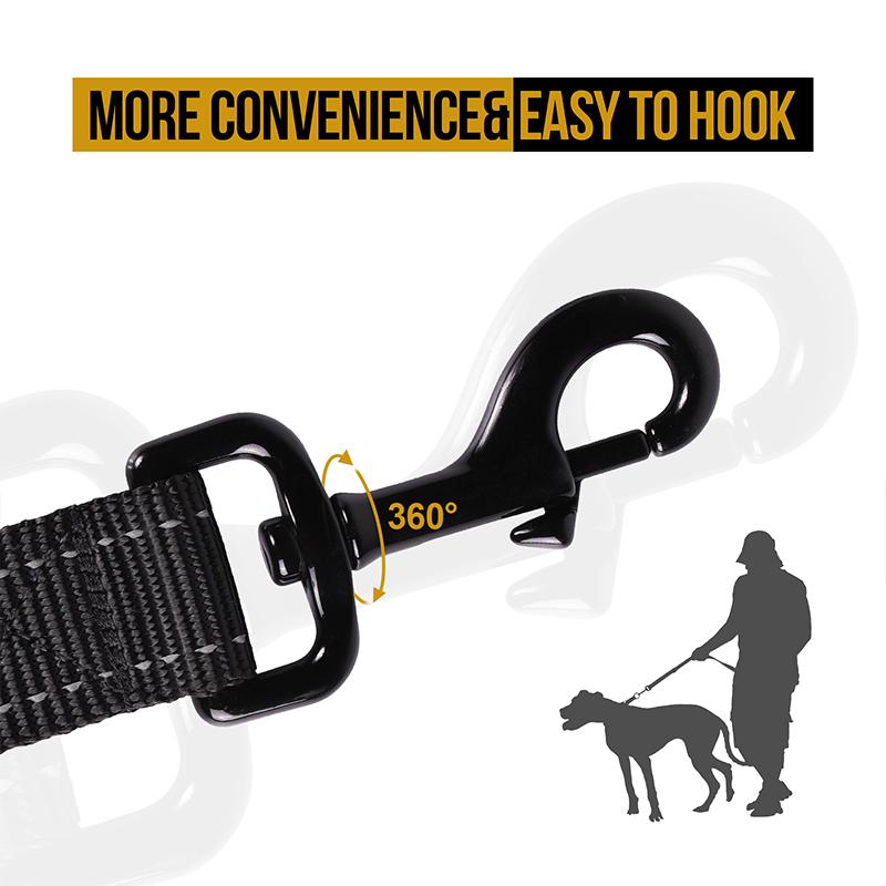 OneTigris Dog Leash 16 easy to hook