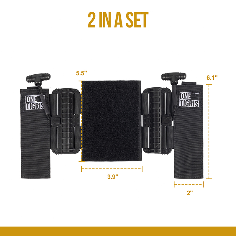 Plate Carrier Quick Release Adapters size chart