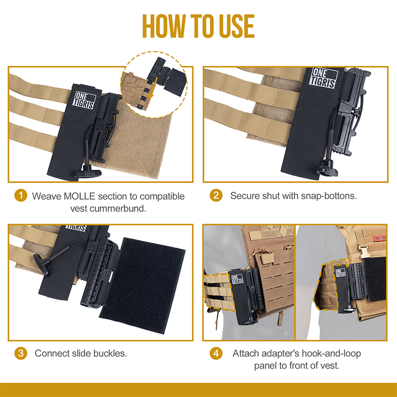 How to use Plate Carrier Quick Release Adapters