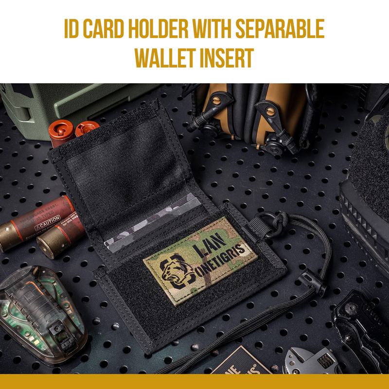 OneTigris Tactical ID Card Holder