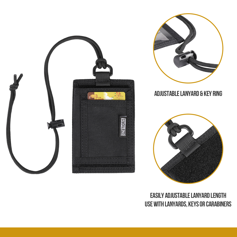 OneTigris Tactical ID Card Holder Easy & Quick Access