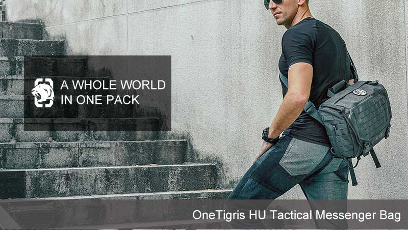 OneTigris HU Tactical Messenger Bag