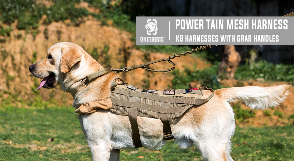 onetigris mesh dog harness