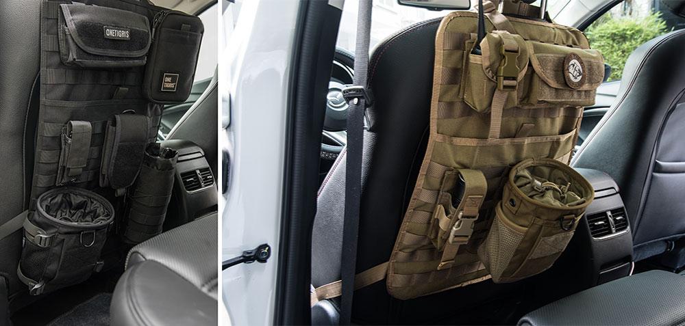 Onetigris Tactical Molle Car Seat Organizer Car Seat