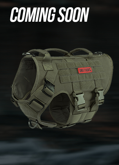 X DESTROYER K9 Harness-Ranger Green-L