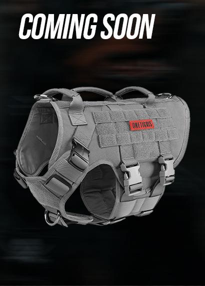 X DESTROYER K9 Harness-Shadow Grey-L